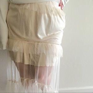 Glamorous Skirts - NWOT ✨ Size 18 Skirt ⭐️ Sheer, Ruffle Skirt